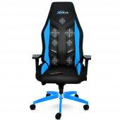 Xdrive Masajlı Oyuncu Koltuğu Fırtına Serisi Mavi Siyah