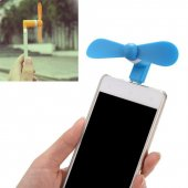 Iphone İpad Telefon Tablet Uyumlu Taşınabilir Mini Fan Vantilatör
