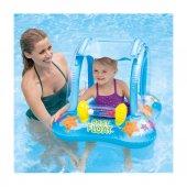Intex Güneş Korumalı Ayak Geçmeli Baby Float 56581