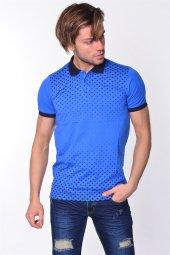 Iceboys Yıldız Baskılı Polo Yaka T Shirt