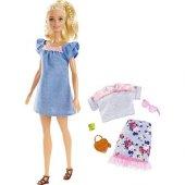 Barbie Fashionıstas Bebek Ve Kıyafetleri Çift Kıya...