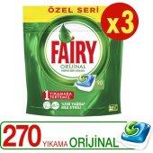 Fairy Hepsibirarada Bulaşık Deterjanı Özel Seri 90 Yıkama X3 Adet