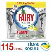 Fairy Platinum Bulaşık Makinesi Kapsülü Limon Kokulu 115 Yıkama