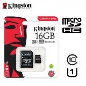Kingston 16gb Microsdhc Clas 45mb S Hafıza Kartı Tesbih Hediyeli