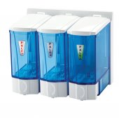 Palex 3566 0 Mini Sıvı Sabun Dispenseri 250 Ccx3 Şeffaf