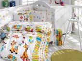 Cottonbox Ranforce Bebek Uyku Seti Oyun Bahçesi (B...