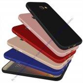 Samsung Galaxy S4 Slim Fit Kılıf Mat Süet Kadife Dokulu Rubber So