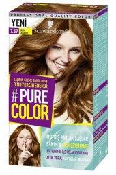 Schwarzkopf Pure Color Jel Saç Boyası 7.57 Krem Karamel