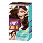 Schwarzkopf Pure Color Jel Saç Boyası 5.6 Çikolatalı Sufle
