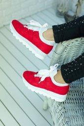 Wissa Kırmızı Ortopedik Bayan Spor Ayakkabı