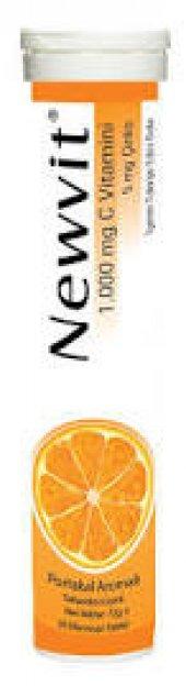 Newvit Vitamin C 1000 Mg Eff 20 Tablet Skt 03 2021
