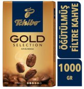 Tchibo Gold Selection Öğütülmüş Filtre Kahve 1000 ...