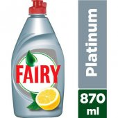 Fairy Platinum 870 Ml (X2)
