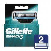 Gillette Mach3 Yedek Tıraş Bıçağı 2 Li