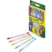 Crayola Silly Scents Çevrilebilen Kuru Boya Kalemi 12li