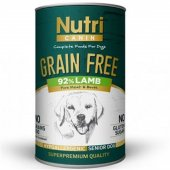 Nutri Canine Senior Grain Free Tahılsız Kuzu Etli ...
