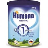 Humana 1 Bebek Sütü 800 Gr Metal Kutu Skt 12 20