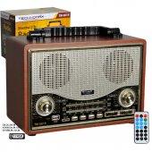 Tm 6619 Nostaljik Şarjlı Radyo Bluetooth + Usb Sd Mp3 Çalar