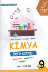 9. Sınıf Kimya Ödev Kitabı Yazıt Yayıncılık