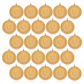 çeyrek Altın Darphane 25 Adet Paket Eski Tarihli