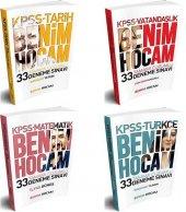 Benim Hocam Yayınları Kpss Tamamı Çözümlü 33 Deneme Seti