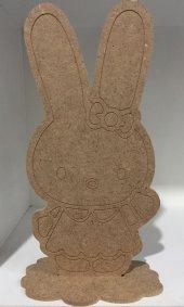 Ahşap Hobi Boyama Tavşan