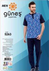 Güneş 5263 Kısa Kol Erkek Pijama Takımı