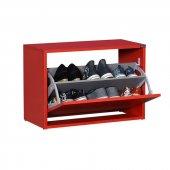 Adore New Step Oturaklı Ayakkabılık Kırmızı