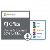 Mac İçin Microsoft Office Ev Ve İş 2016 W6f 00552 (Dijital İndirilebilir Lisans)