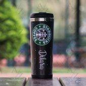 Kişiye Özel Starbucks Tasarım Termos Bardak