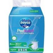 Mavi Beyaz Kilotlu Hasta Bezi Medium 30lu Paket