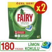 Fairy Hepsibirarada Bulaşık Deterjanı Özel Seri 90 Yıkama X2 Adet