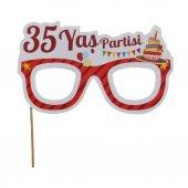 Partipan 35 Yaş Partisi Konuşma Balonu 10lu