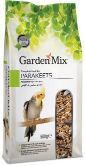 Gardenmix Platin Parakets Papağan Yemi 500 Gr (10 Adet)