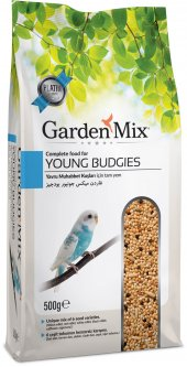 Garden Mix Platin Yavru Muhabbet Kuş Yemi 500 Gr (5 Adet)