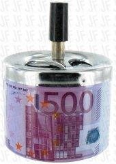 Euro Tasarımlı Metal Bas Çek Küllük