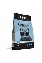 Lindo Cat Topaklaşan Sabunlu Kalın Taneli Kedi Kumu 10 Lt