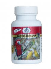 Apex Kuşlar İçin Toz Vitamin 100 Gr