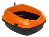Derin Kedi Tuvalet Kabı 49*40*22 Cm Turuncu