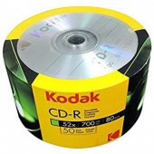 Kodak Cd R 50li Paket Boş Cd 52x 700mb Spindle
