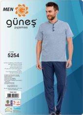 Güneş 5254 Kısa Kol Erkek Pijama Takımı