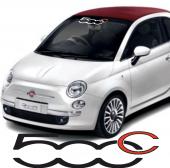 Fiat 500c Ön Cam Oto Sticker