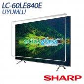 Sharp Lc 60le840e Tv Ekran Koruyucu Ekran Koruma Camı Etiasglass