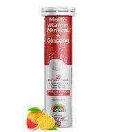 Sunlife Multi Vitamin + Mineral + Ginseng 20 Efv.tablet