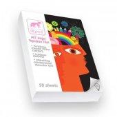 Rovi Fine Art Şeffaf Film Etiket (Pet) 0,08mm 50yp A6
