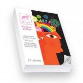 Rovi Fine Art Kumaş Yüzeyli Etiket 275gsm 50yp 15x21