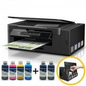 Epson L3060 Orjinal Tanklı 4 Renk Yazıcı Inktec Mürekkepli