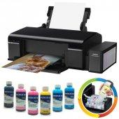 Epson L805 Orjinal Tanklı 6 Renk Yazıcı Inktec Mürekkepli