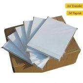 A4 İthal Transfer Baskı Kağıdı Polyester Seramik Metal 50 Yapra