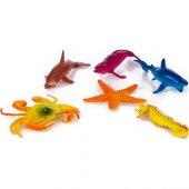 H163s Pvs De 6 Lı Deniz Hayvanları Set